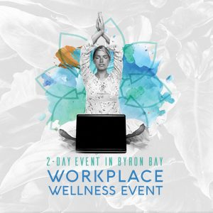 workplace wellness event in byron bay